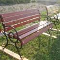 Продам скамейки садовые новые 1 5 м