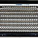 Решетка вентиляционная КАРО 315х160  с жалюзи