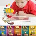 живые сказки раскраски 3D