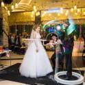 Шоу гигантских мыльных пузырей на свадьбу, фотография 2