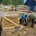 дрова колатые