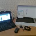 планшет+GPSнавигатор+чехол с клавиатурой