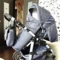продам модульную коляску 3в1, 3в1 Krasnal saturn2, фотография 5