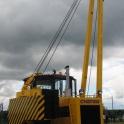 трубоукладчик четра тг121/122, d-65, г/п 20-25 тонн