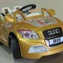 детский электромобиль audi tt cabrio-premium. модель 2013 года. доставка по рб