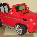 детский электромобиль mercedes suv g55 внедорожник. модель 2013 года