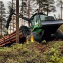 Работа в лесозаготовительной сфере.