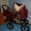 Продам детскую коляску джип.