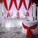 Украшение свадебного зала в Волковыске, Гродненской области