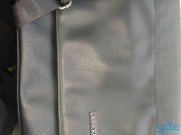Сумка мужская эко кожа LASOCKI. модель RM0447, фотография 1