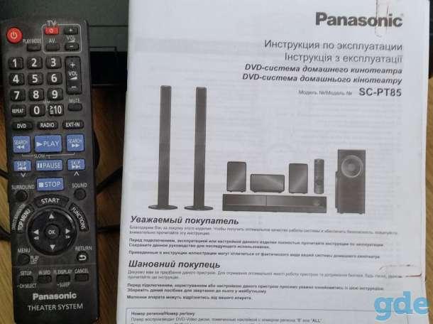 SC-PT85-DVD-система домашнего кинотеатра Panasonic, фотография 2