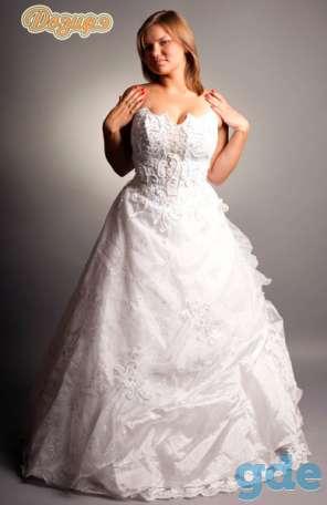 свадебные и вечерние наряды полным фигурам, фотография 5