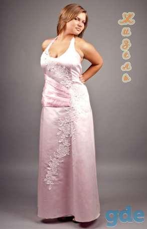 свадебные и вечерние наряды полным фигурам, фотография 9