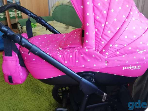 Детская коляска Adamex Jogger 2 в 1, фотография 3