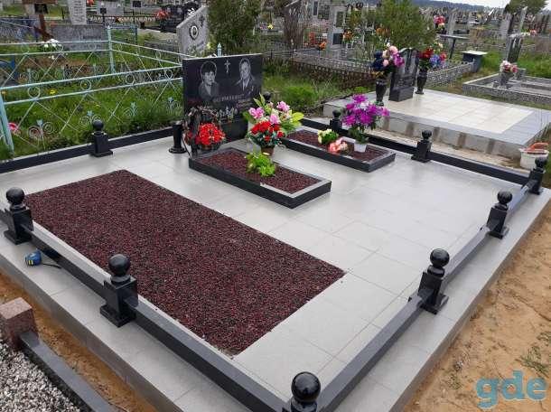 Благоустройство мест захоронения и памятники, фотография 1