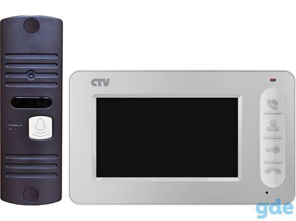 Видеодомофоны CTV: мониторы, вызывные панели, комплекты, фотография 3
