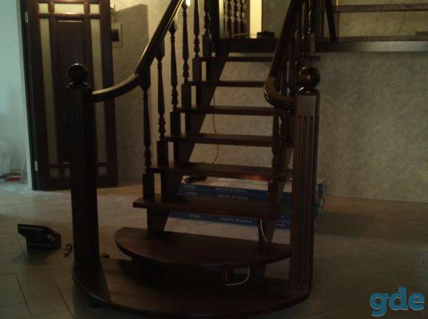 деревянные лестницы, фотография 2