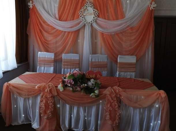 оформление свадебного зала в Кировске, фотография 5
