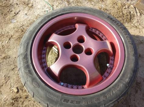 Полимерная порошковая покраска  автомобильных дисков, фотография 6