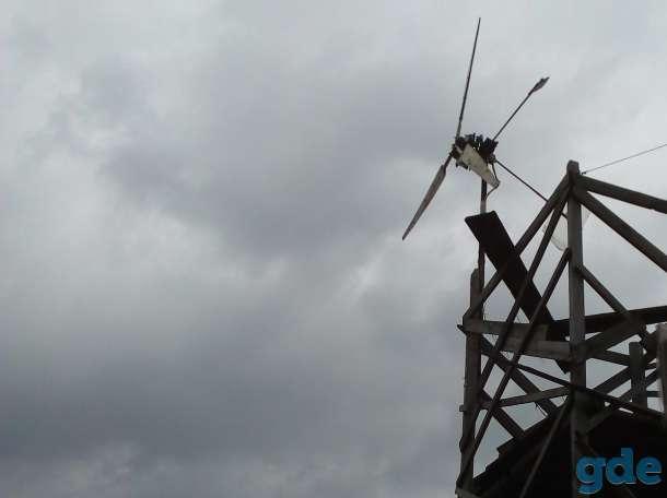 ветрогенератор, фотография 1