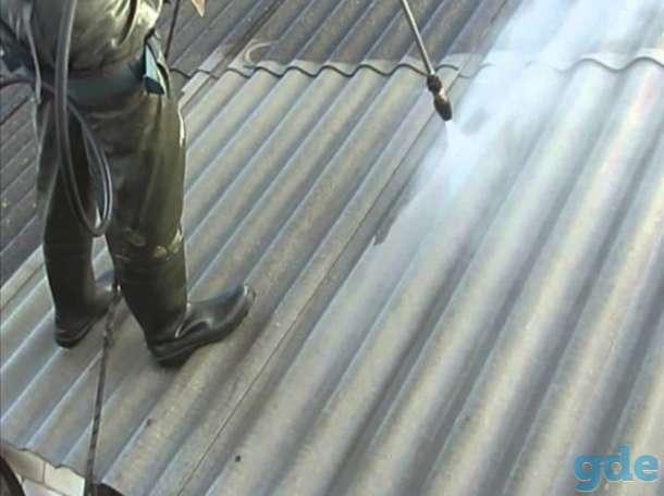 Очистка крыши от мха и грязи, покраска кровли., фотография 3