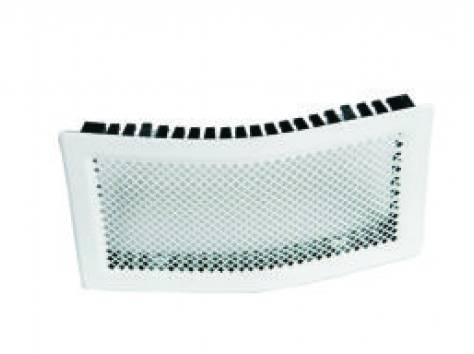 Решетка вентиляционная КАРО 425х105 изгибаемая, фотография 1