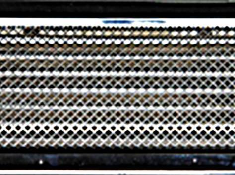 Решетка вентиляционная КАРО 315х160  с жалюзи , фотография 1