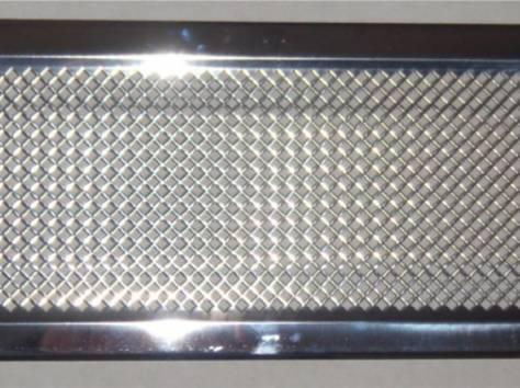 Решетка вентиляционная КАРО 506х160 без жалюзи , фотография 1
