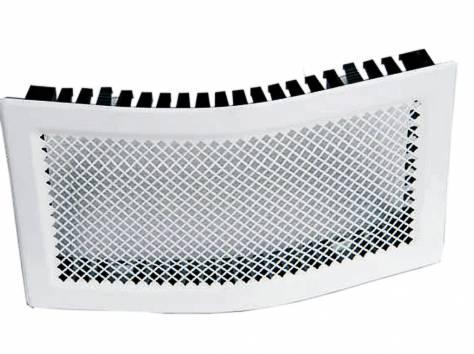 Решетка вентиляционная КАРО 506х160 изгибаемая, фотография 1