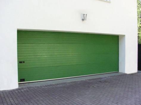Ворота гаражные, теплые по низким ценам. Звоните. Поможем с выбором. , фотография 1