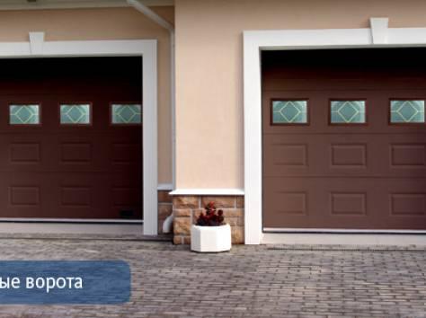 Ворота гаражные, теплые, прочные. , фотография 3
