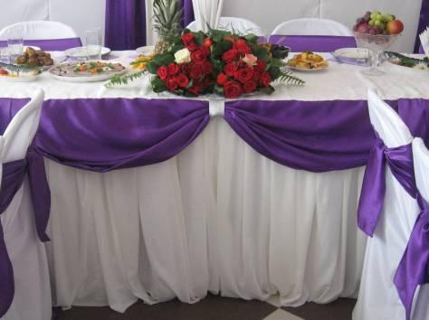 Украшение свадебного зала, фотография 3