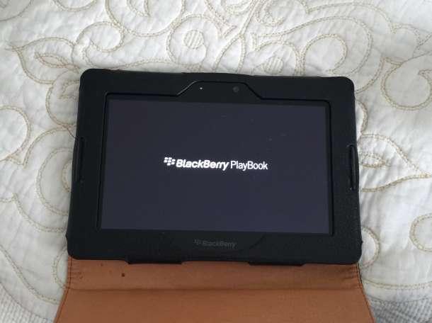 Blackberry playbook+ чехол+зарядное, фотография 6