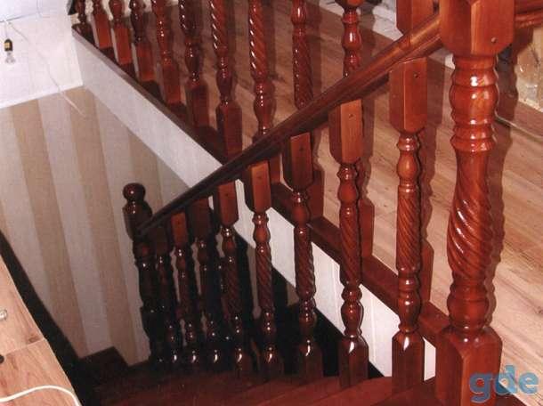 деревянные лестницы, фотография 7