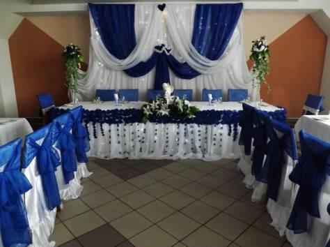оформление свадебного зала в Кировске, фотография 1