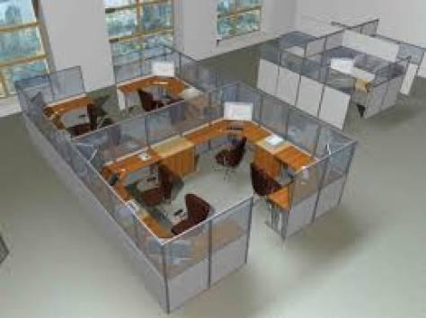 Сборка и разборка офисных перегородок при переездах, фотография 1