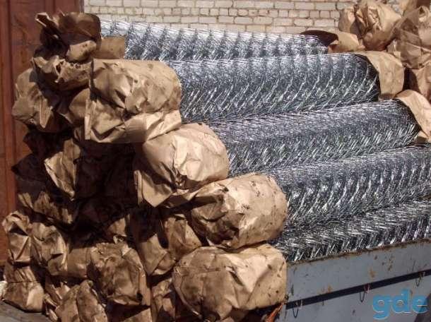 Оцинкованная сетка рабица с доставкой в Молодечно, фотография 1