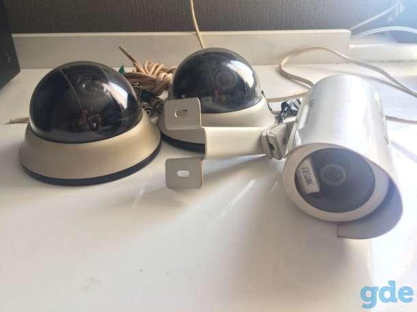 Видеорегистратор 4-канальный GRIZZLY 4.lite + 3 аналоговые камеры и блок песперебойного питания, фотография 5