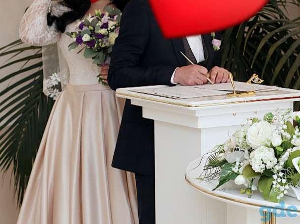 Продам свадебное шикарное платье, фотография 4
