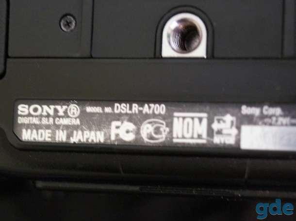 фотоаппарат SONY DSRL-A700K, фотография 3