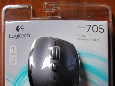 Беспроводная мышь Logitech Marathon Mouse M705 (Новая), фотография 1