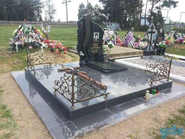Благоустройства мест захоронения  Памятники, фотография 1