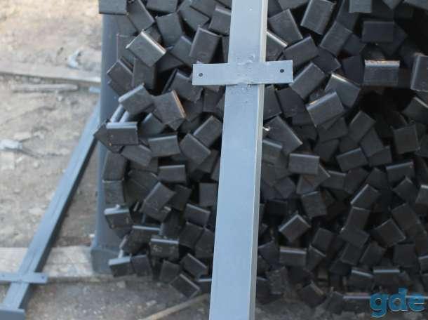 Металлические столбы для забора с доставкой в Чашники, фотография 2