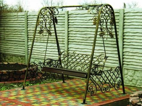 Кованые качели, фотография 5
