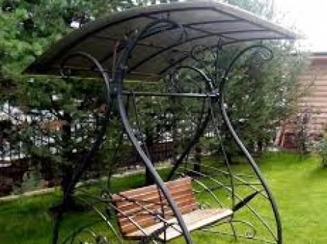 Кованые качели, фотография 7