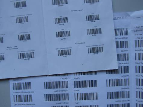 Продаю новый лазерный сканер штрих-кодов за 40$. Возможны различные режимы программирования сканера штрих кода. Есть реж, фотография 3