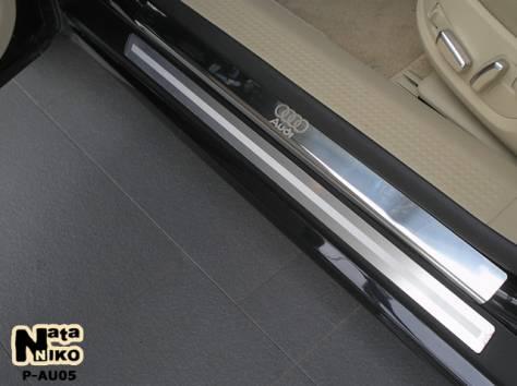 Накладки на пороги для авто, фотография 3