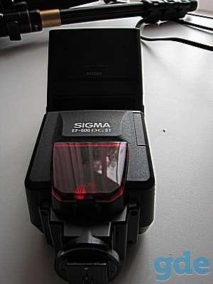 Вспышка SIGMA EF-500., фотография 1