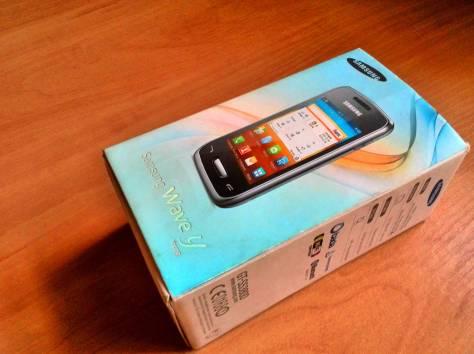 Телефон ребёнку в школу - Samsung S5380 Wave Y, фотография 1