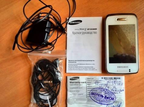 Телефон ребёнку в школу - Samsung S5380 Wave Y, фотография 3